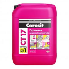 Грунтовка глубокого проникновения Ceresit CT 17 универсальная 10 л