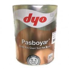 Pasboyar - Алкидная эмаль  3 в 1 по  ржавчине