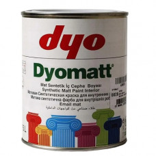 Dyomatt - Синтетическая глянцевая (белая) краска