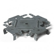 Соединитель одноуровневый Сиал для ПП-профилей 148х56х20x0.8 мм