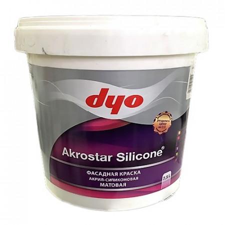 Akrostar Silicone - Фасадная акрил-силиконовая водоэмульсионная краска