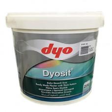 Dyosit- Декоративная штукатурка (фракция 2,5 мм.) 25кг