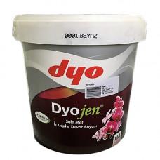 Dyojen - суперстойкая интерьерная водоэмульсионная краска. Первый класс защиты стен