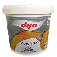 Acrofiller - Быстросохнущая стойкая фасадная шпатлевка