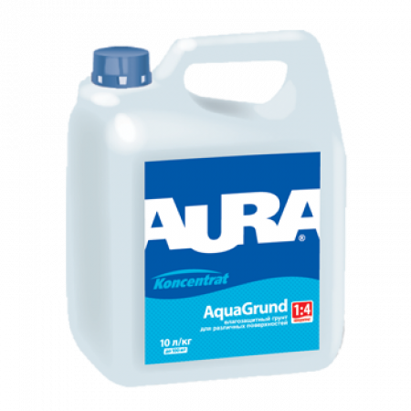 Грунт-концентрат 1:5 влагоизолятор, Aura Aqua Grund, 10 л